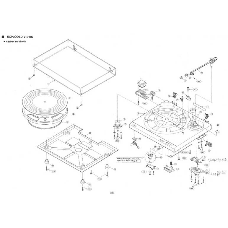 SL-B210 EXPLODED VIEW